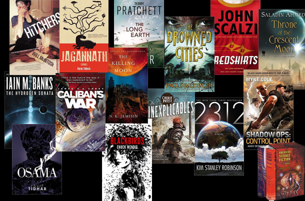 Geek Exchange's 15 Great 2012 Science Fiction/Fantasy Books to Read in 2013